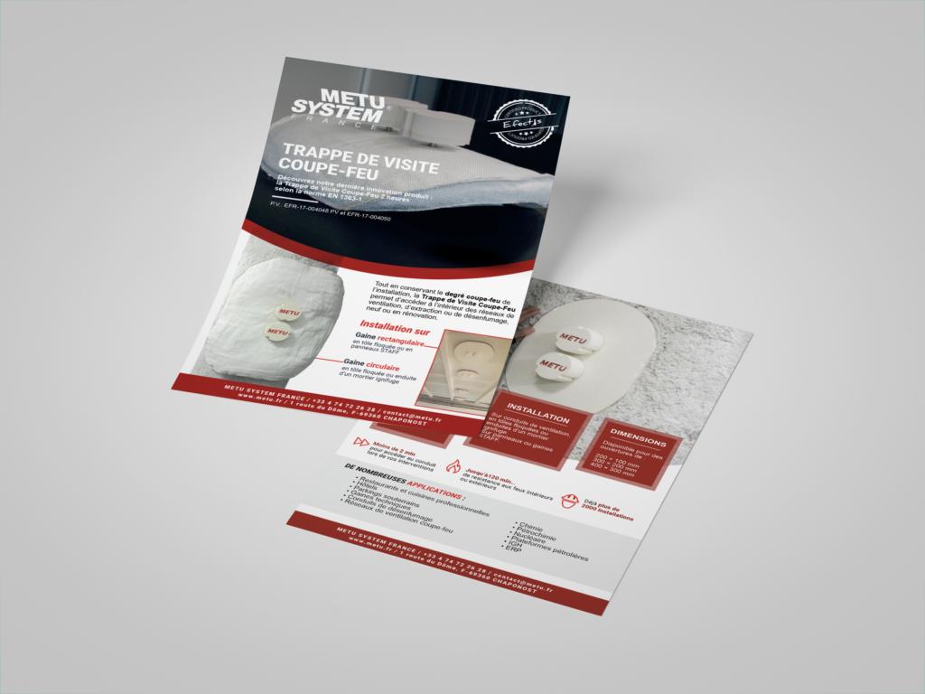 création brochure lyon